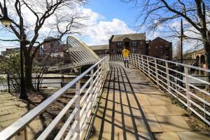 Crossing the White Bridge