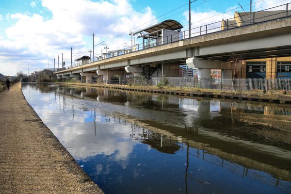 Bridgewater Canal at Pomona Tram stop