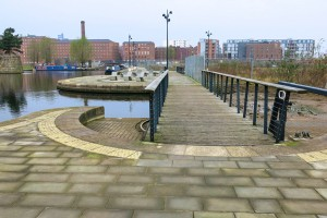 Across the canal arm by CHIPS