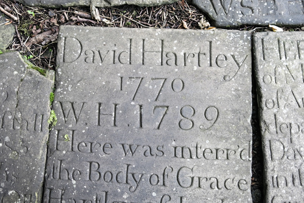 King David Hartley's grave