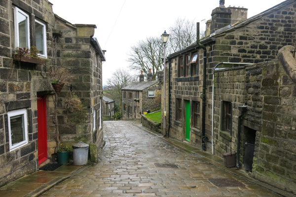 Attractive stone houses