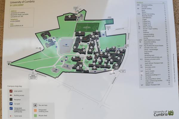 university of cumbria lancaster campus map Lancaster Toggled Information Superlative Walks university of cumbria lancaster campus map