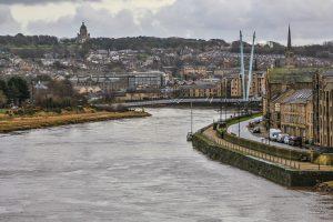 River Lune from Railway Bridge