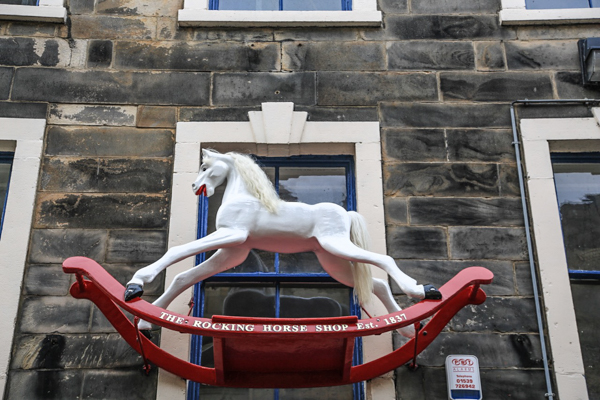 Rocking Horse in New Street