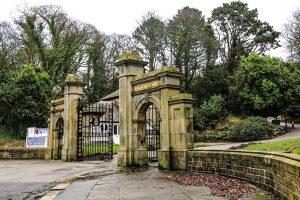 Williamson Park Gates on Quernmore Road