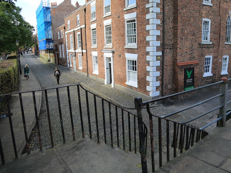 Steps at Abbey Street