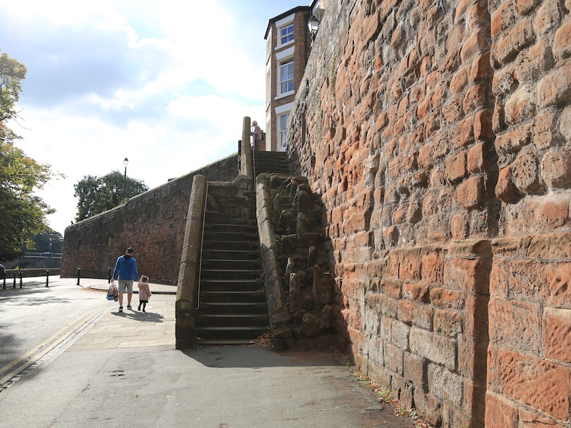 Steps up to the Recorder House