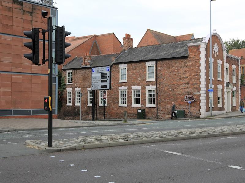 Cross to Dee Lane