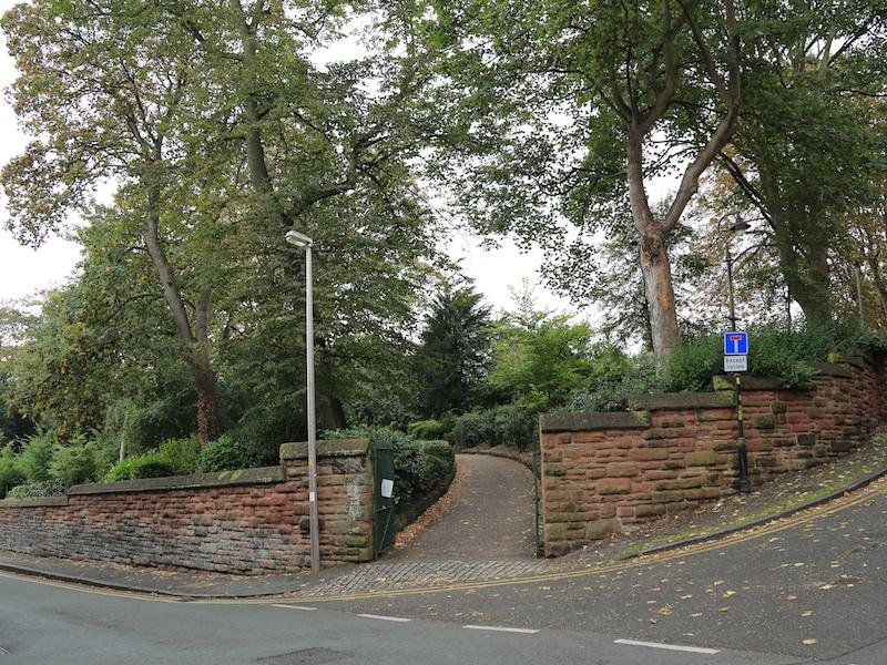 Enter Grosvenor Park