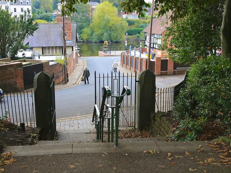 Exit Grosvenor Park