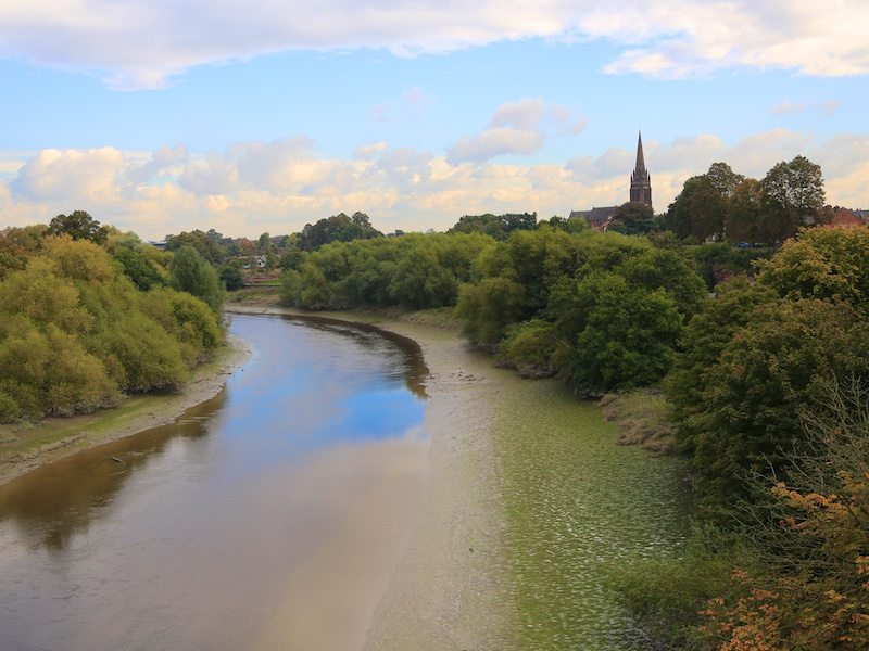 View from Grosvenor Bridge