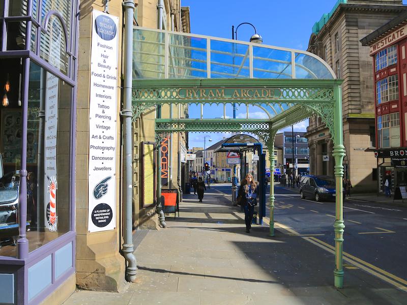 Byram Arcade entrance