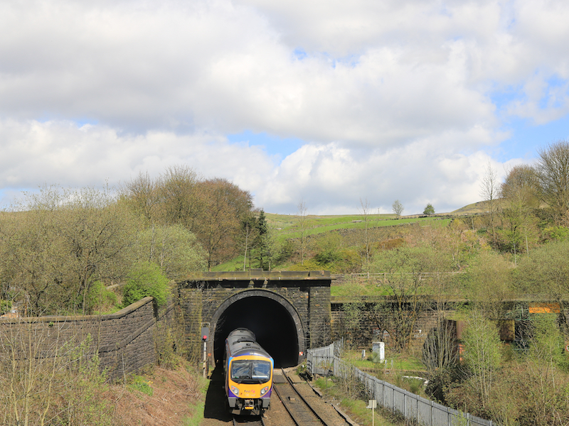 Standedge railway tunnel