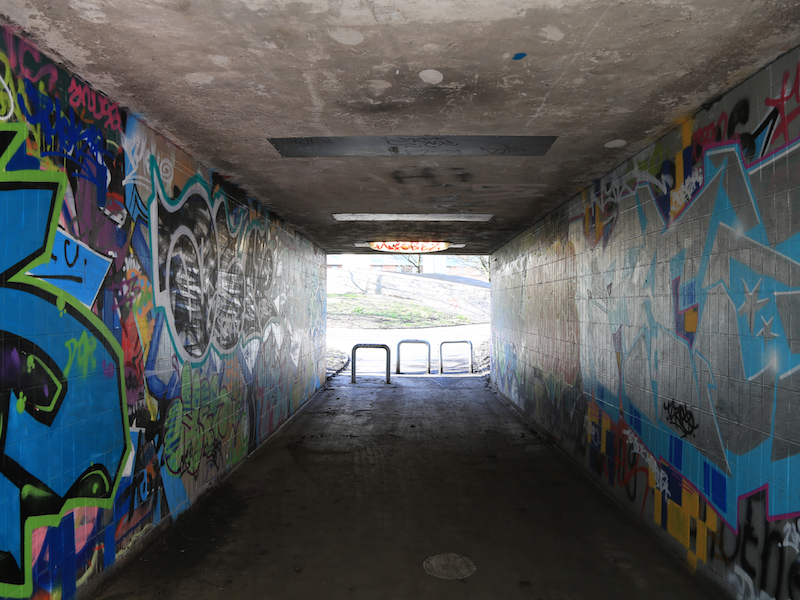 Under the Mancunian Way
