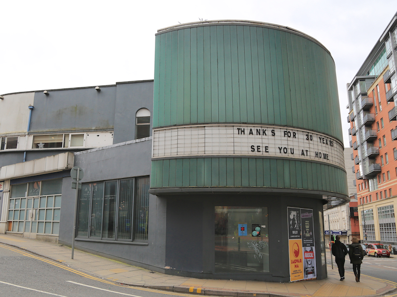 Former Cornerhouse cinema