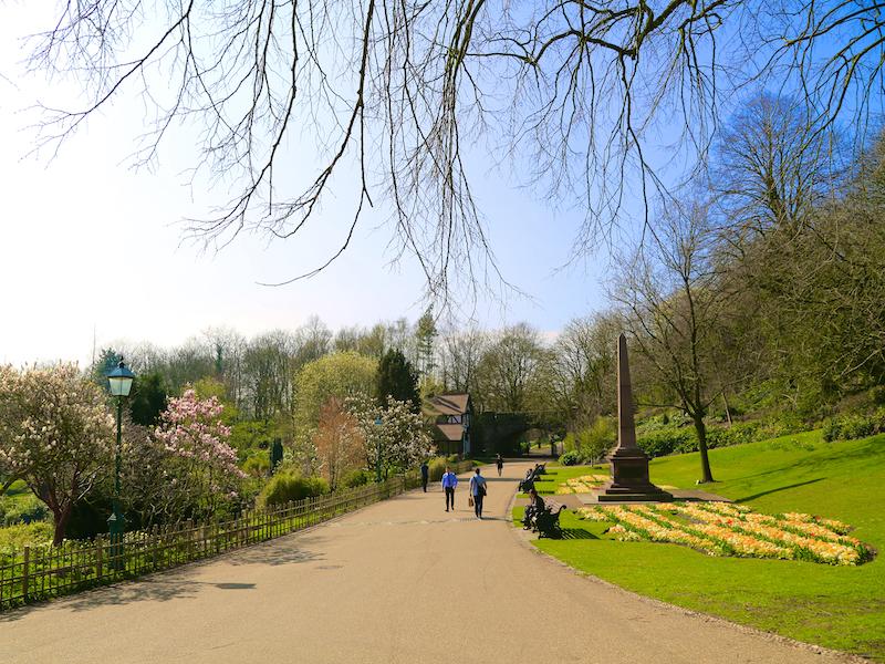 Into Avenham Park
