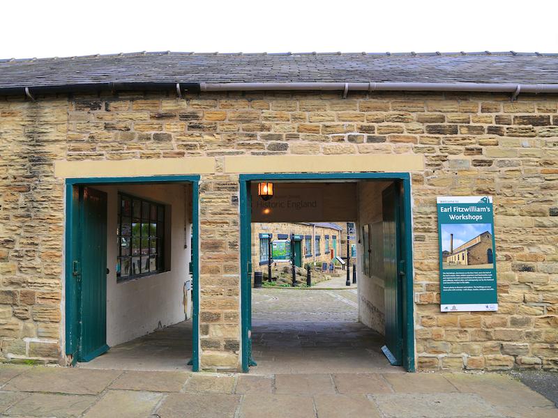 Entrance to Elsecar Heritage Village