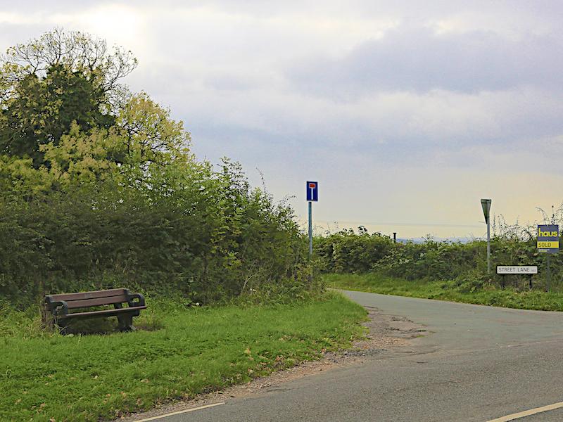 Left into Street Lane