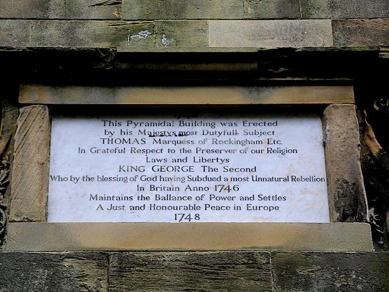 Inscription Hoober Stand