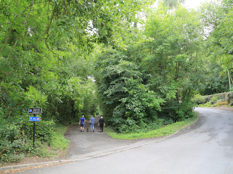 Enter Severn Valley Way