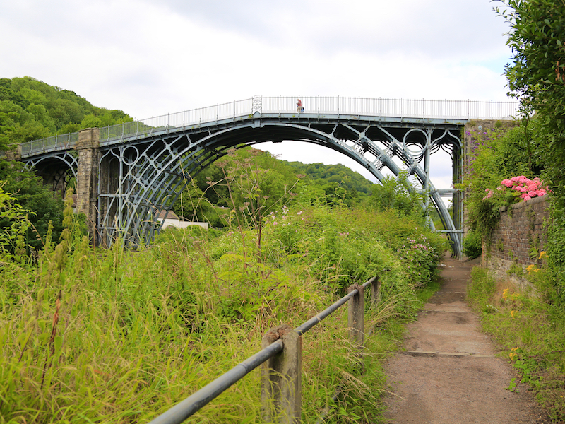 Path to Iron Bridge