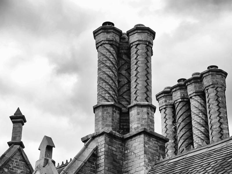 Chimneys on Church Hill