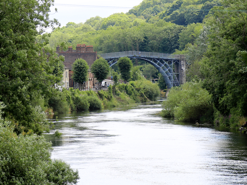Back towards Iron Bridge