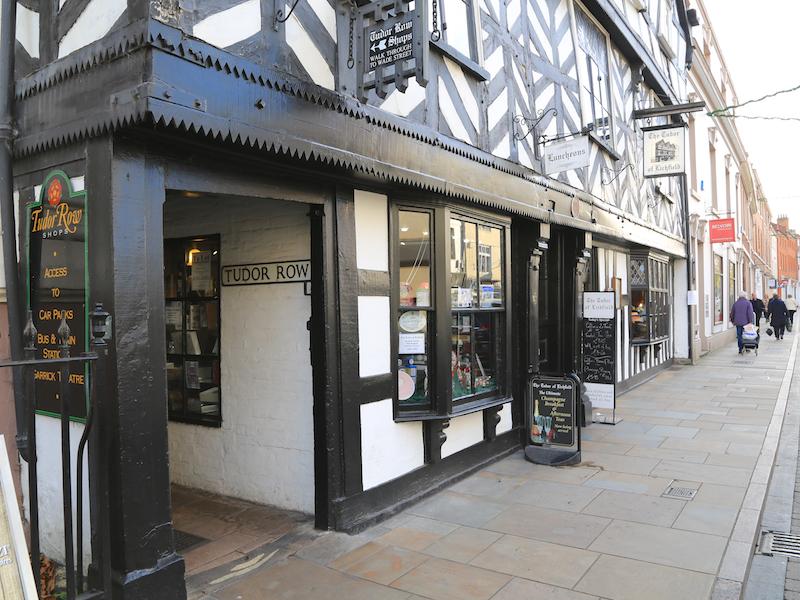 Tudor Row entrance