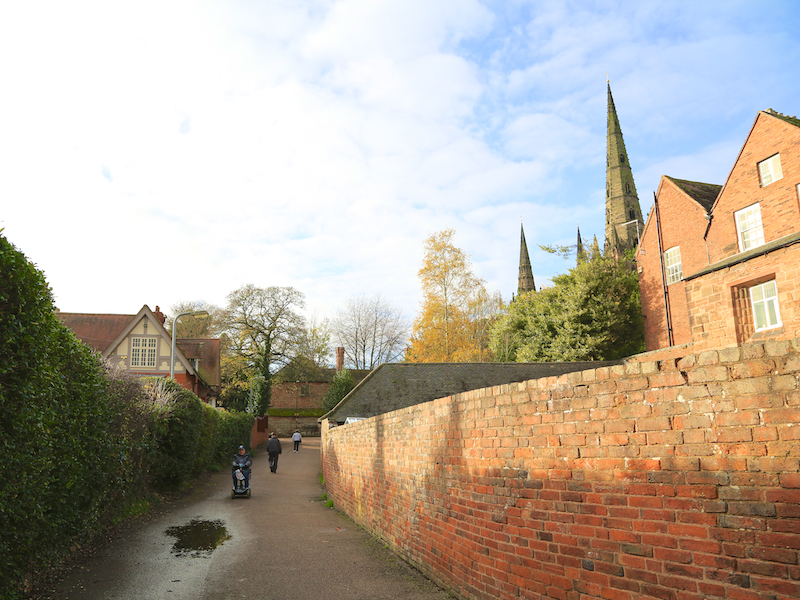 Path towards Cathedral