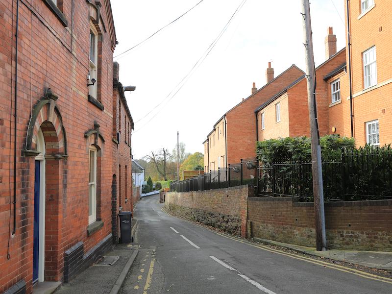 Left into Shaw Lane