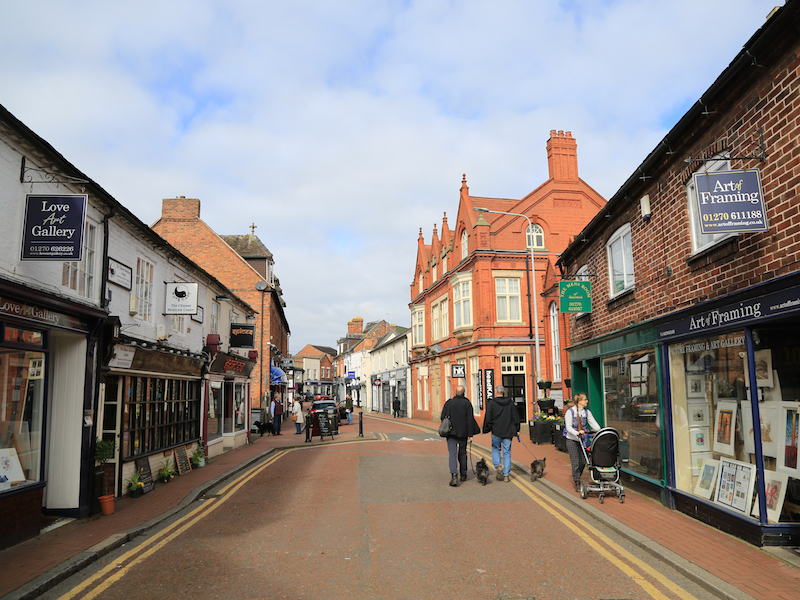 Shops on Pillory Street