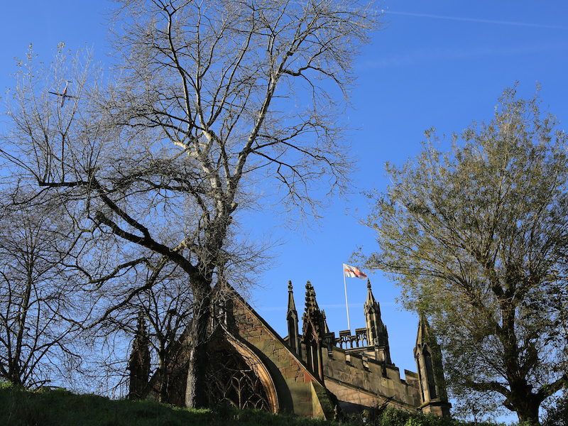 St Mary's Church from Millgate