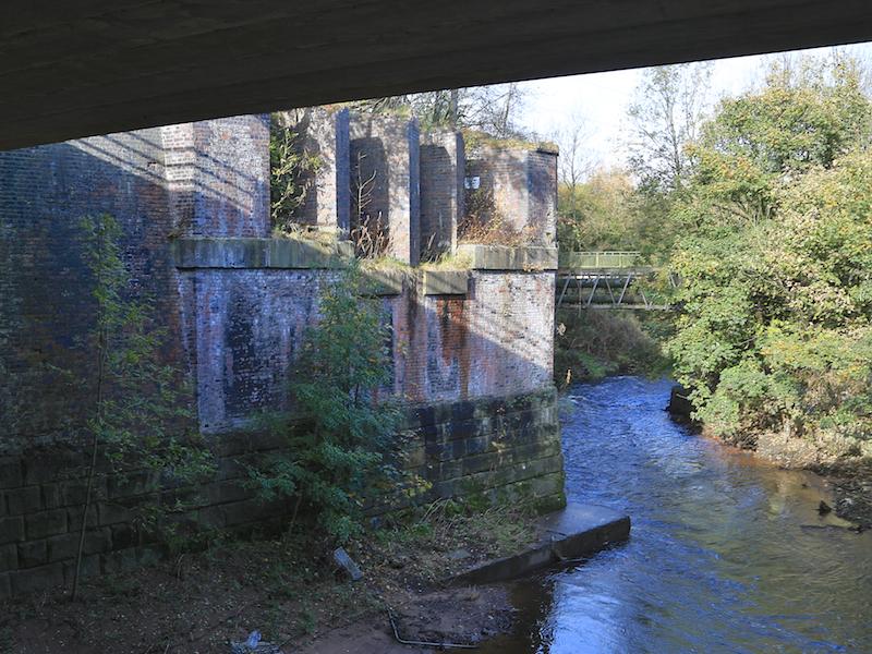 Footbridge over Tame