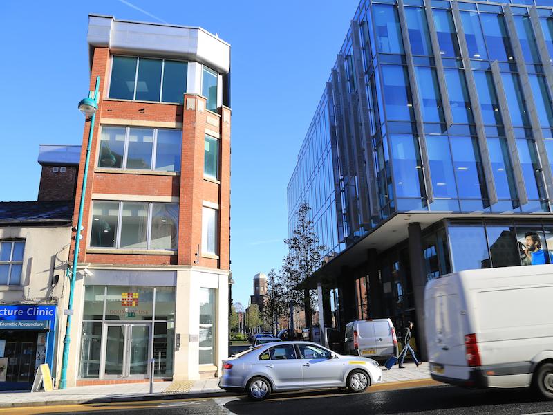 Across to Hooper Street