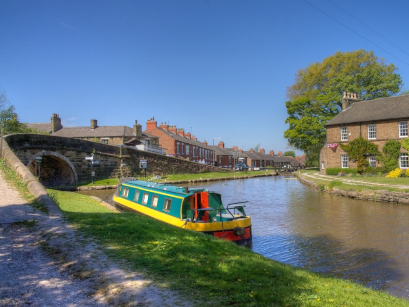 Junction with Macclesfield Canal