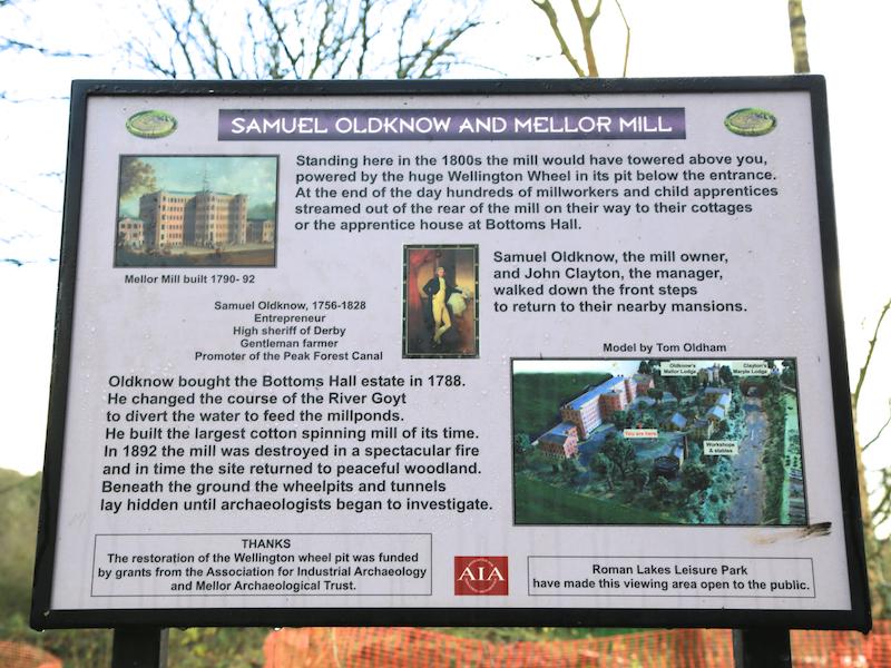 Mills sign