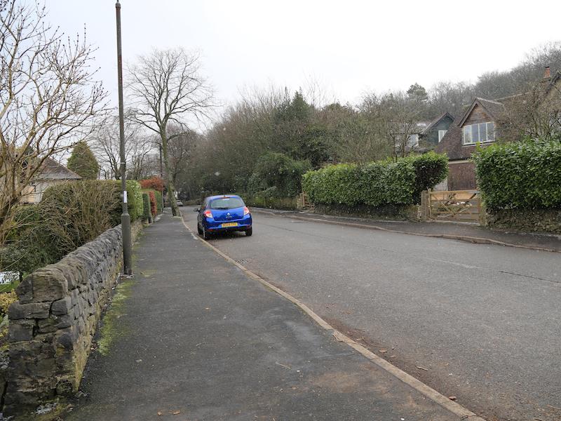 left on Green Lane