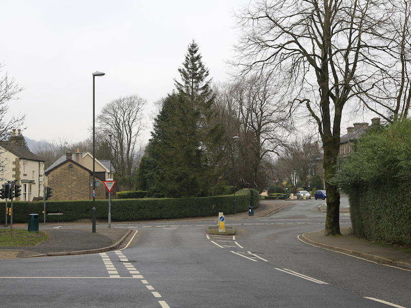 junction with Macclesfield Road