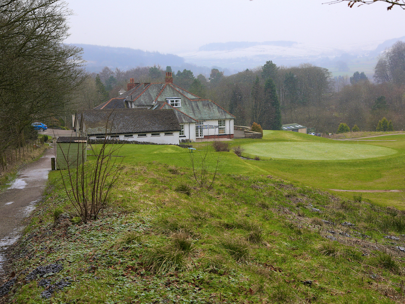 path past clubhouse