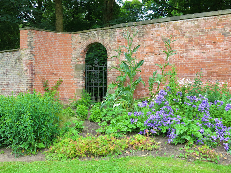 Manor Park - walled garden