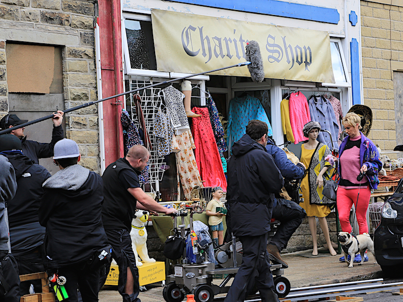 Filming the League of Gentlemen
