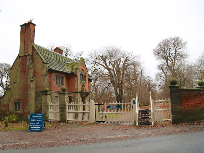 A5b Enter Dunham Massey Park