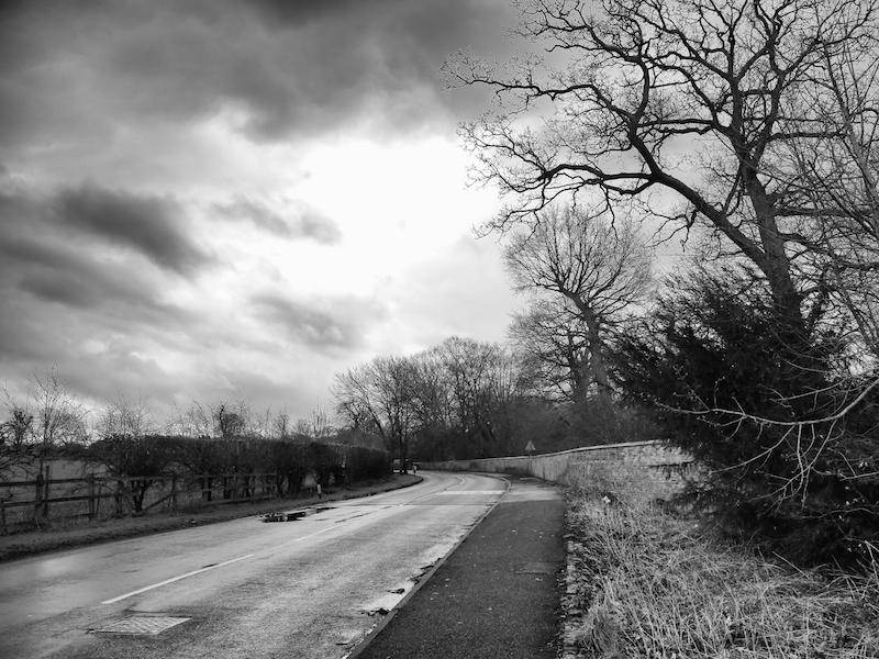 Along Woodhose Lane