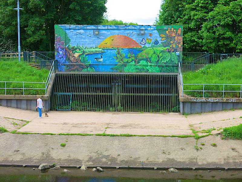 Mersey mural