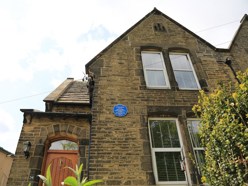 Sir Fred Hoyle's birthplace