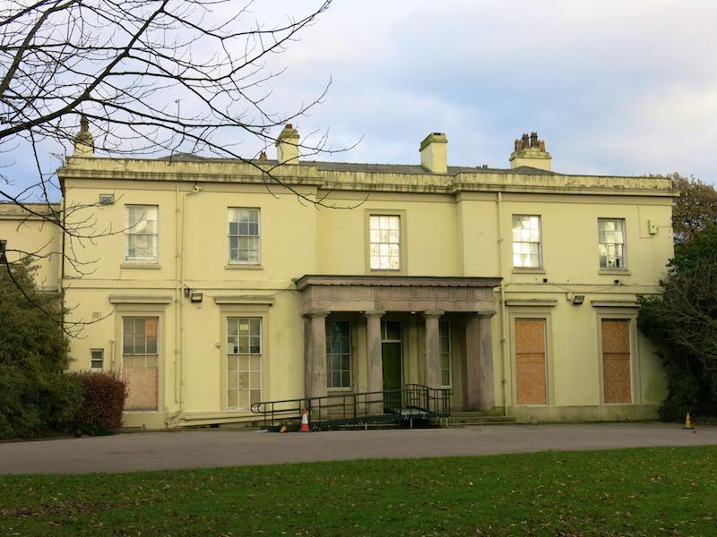 Mansion house (before restoration)