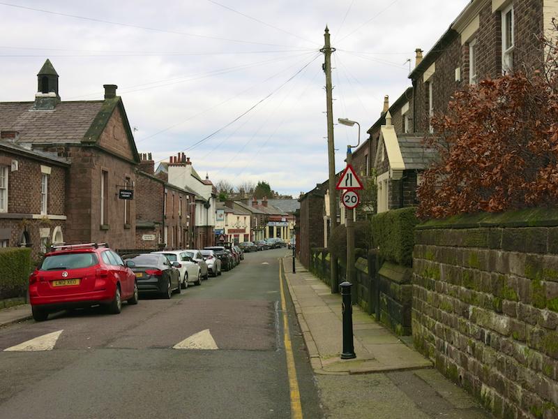 Along Allerton Road