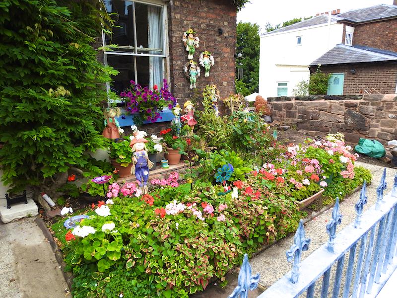 Woolton village cottages