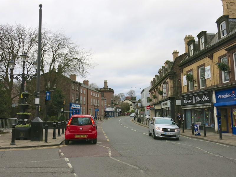 Turn left into Acrefield Road