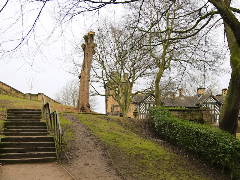 Uphill to Hall